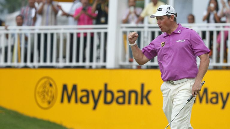 Lee Westwood: Won the Malaysian Open by seven shots