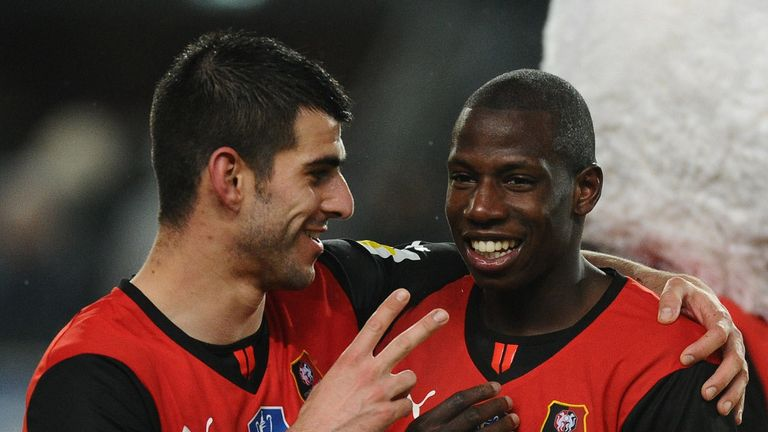 Abdoulaye Doucoure (r): New deal with Rennes