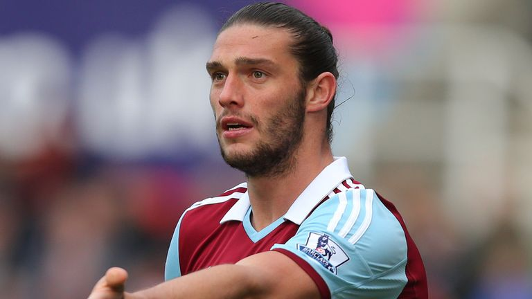 Andy Carroll: West Ham striker will be hoping for a World Cup call