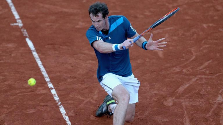Andy Murray: Beats Seppi to level Davis Cup tie