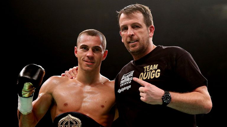 Best to come: Quigg should get credit if he gets through this defence, says Jim