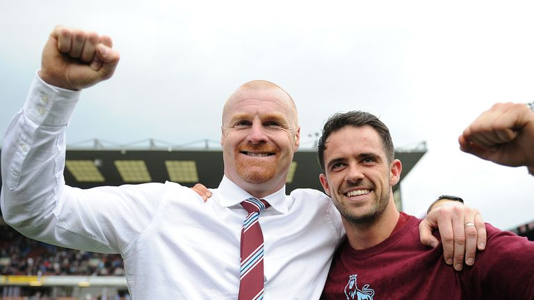 Sean Dyche and Danny Ings have led Burnley into the Premier League