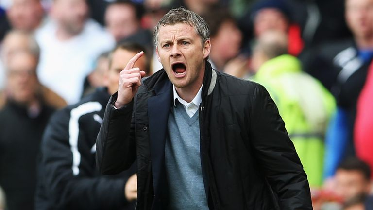 Ole Gunnar Solskjaer: Refused to comment on penalty and red card