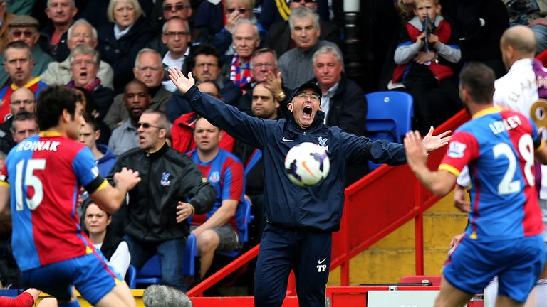 Pulis was in the Selhurst Park hotseat for 10 months