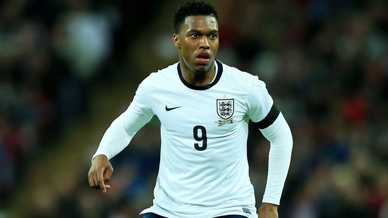 Daniel Sturridge: Happy to be England's number nine.