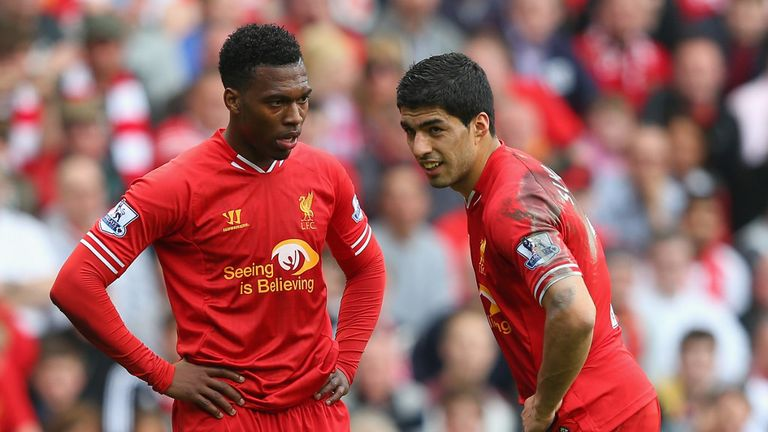The desire to play Daniel Sturridge and Luis Suarez together necessitated new ideas