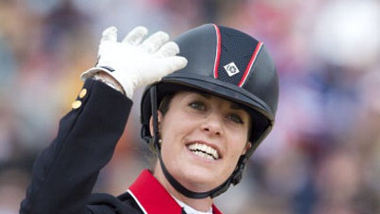Charlotte Dujardin: Secures second world title of week in Caen