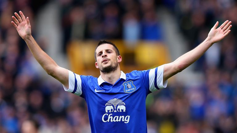 Kevin Mirallas: Believes pressure is on Arsenal in the race for fourth place