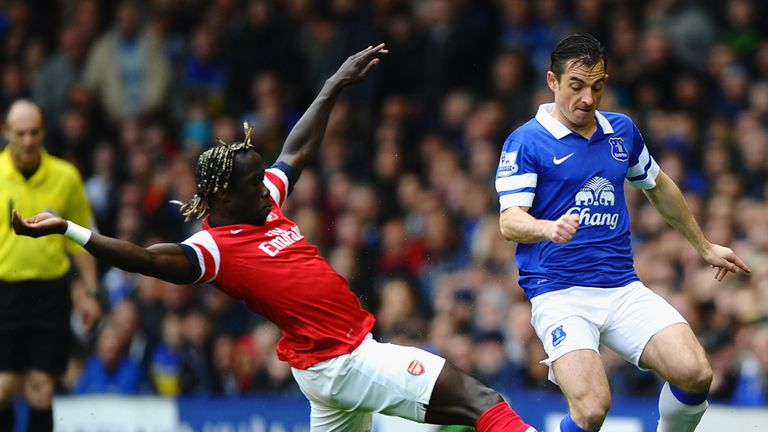 Leighton Baines: England defender says Everton are confident of top four finish