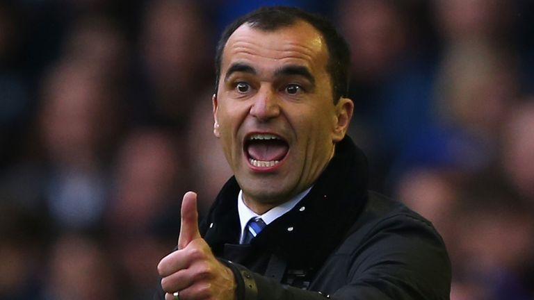 Roberto Martinez: Not getting carried away after Everton's win over Arsenal