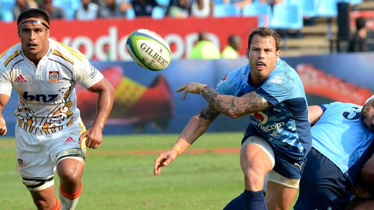 Francois Hougaard: Back for the Bulls
