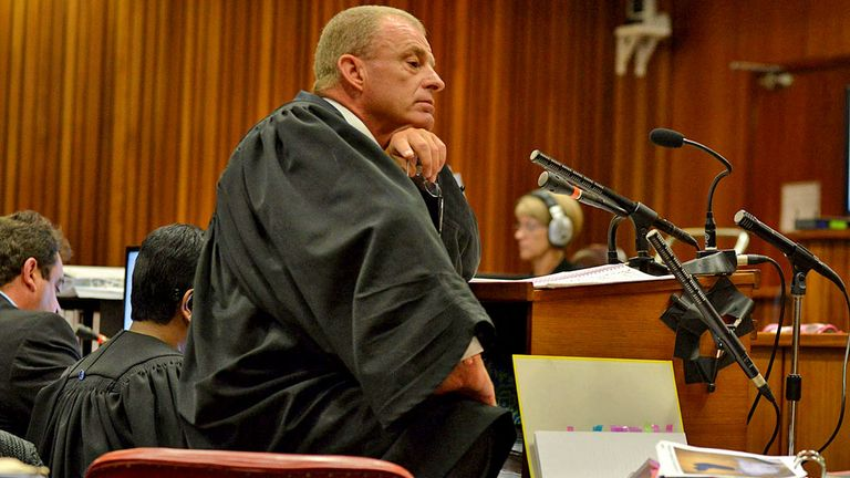Gerrie Nel grilled Oscar Pistorius for the fourth straight day in Pretoria