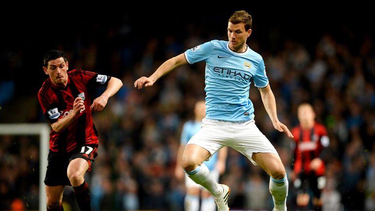 Edin Dzeko: Manchester City striker is on Inter Milan's radar