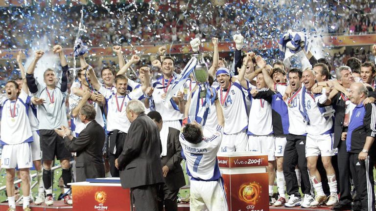 Greece conquered Europe in 2004 in what was a major upset