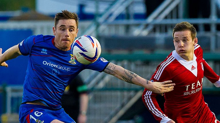 Inverness Caley and Aberdeen fought out a scoreless draw