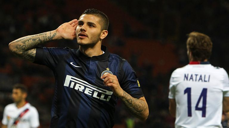 Mauro Icardi: Happy at Inter Milan