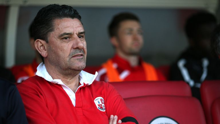 John Gregory: Believes Lewis Young can flourish at Crawley