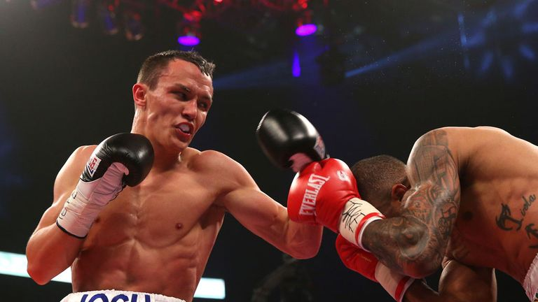 Josh Warrington: Five-fight Matchroom deal