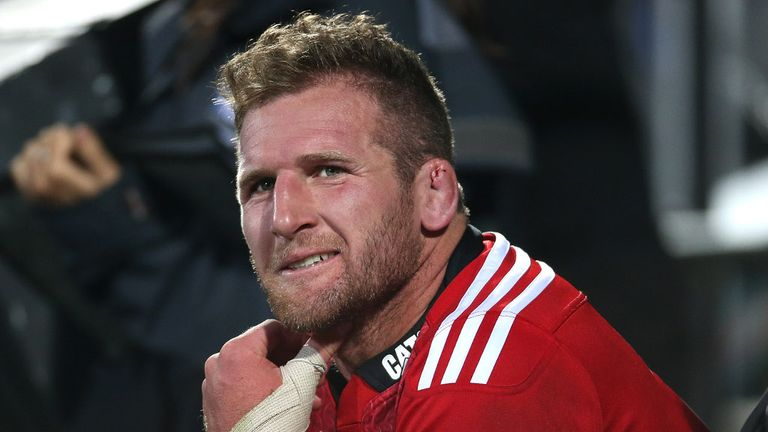Kieran Read: Sidelined through concussion