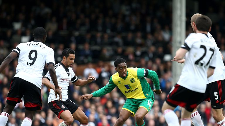 Leroy Fer: Norwich midfielder could be heading for QPR