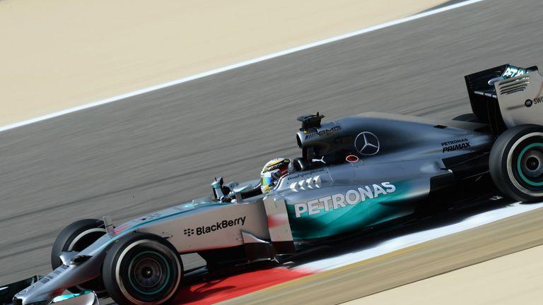 Lewis Hamilton: P1 pacesetter