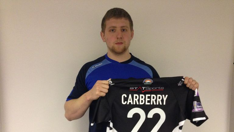 Liam Carberry: Suffered broken leg prior to Super League season