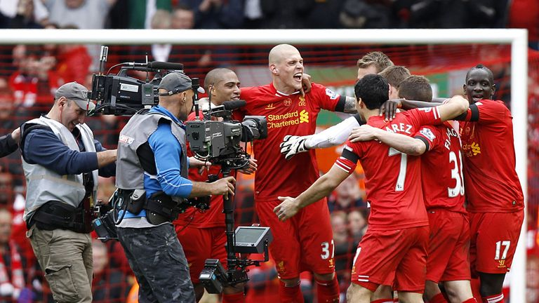 Liverpool: won a 3-2 thriller against Manchester City last term