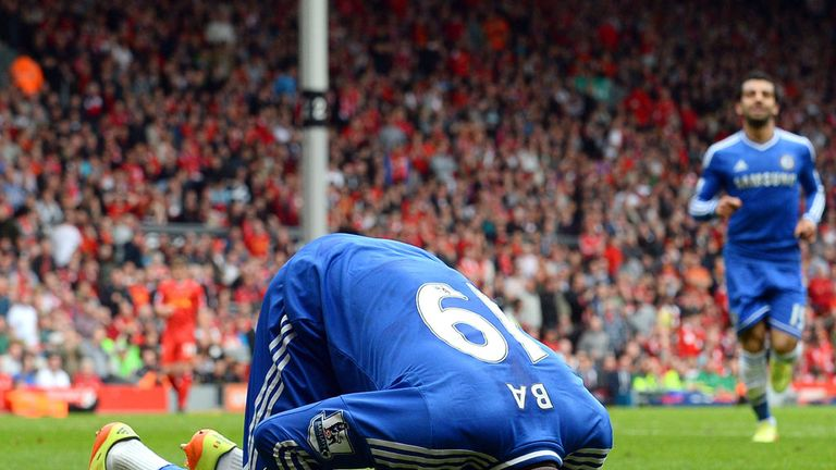 Demba Ba: Scored for Chelsea at Anfield