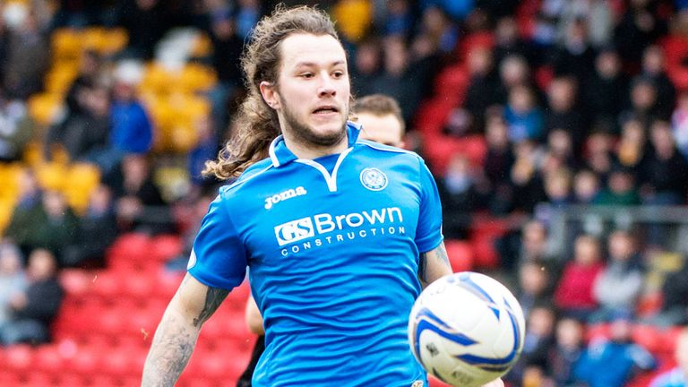 Stevie May: Has been the subject of interest from a number of English clubs
