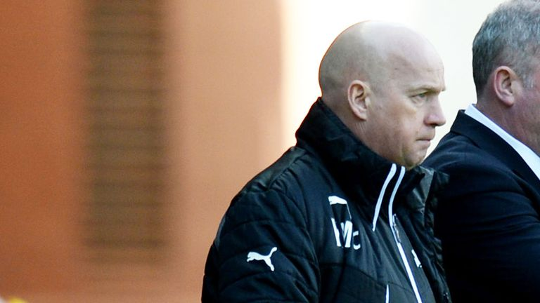 Kenny McDowall: Rangers assistant manager is playing down the team's promotion chances