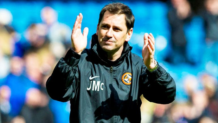Jackie McNamara: Enjoyed another win for Dundee United