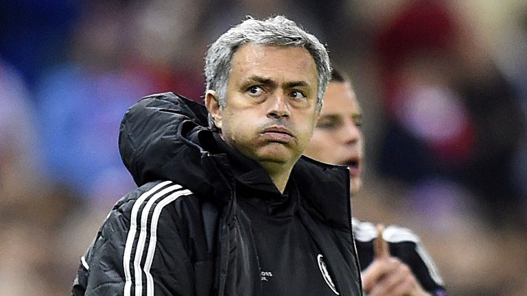 Jose Mourinho: Wary of passing his illness to his players