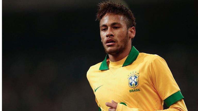 Neymar: Scored superb free-kick in Brazil win