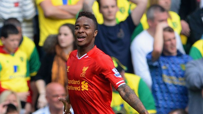 Raheem Sterling: Brilliant season for Liverpool