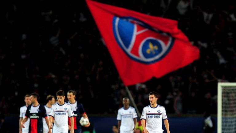 Chelsea were beaten 3-1 by Paris St-Germain in the first leg of the Champions League quarter-final tie