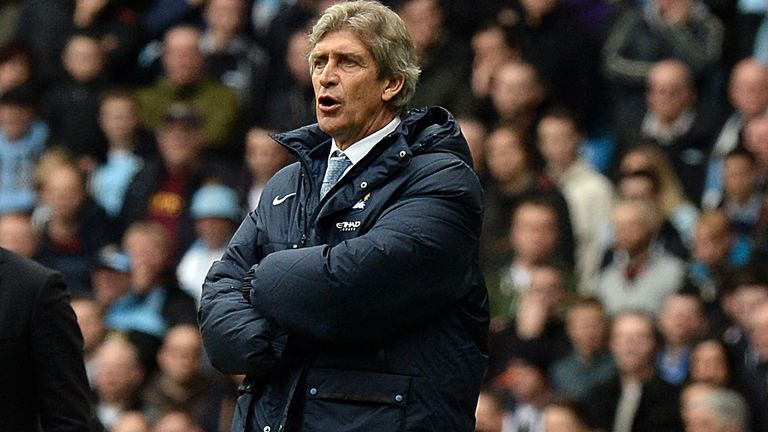 Manuel Pellegrini: Happy with Manchester City's momentum in the title race