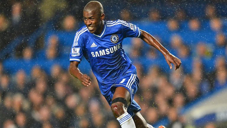 Ramires: Lashed out at Larsson in closing stages at Stamford Bridge