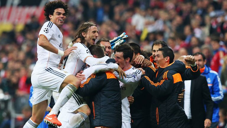 Real Madrid: Eased to a 5-0 aggregate win over Bayern Munich