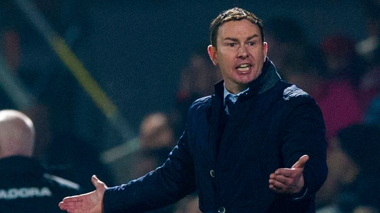 Derek Adams: No complaints from the Ross County manager