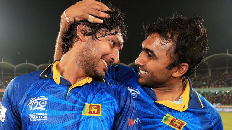 Kumar Sangakkara and Mahela Jayawardene: Hit out at SLC criticism