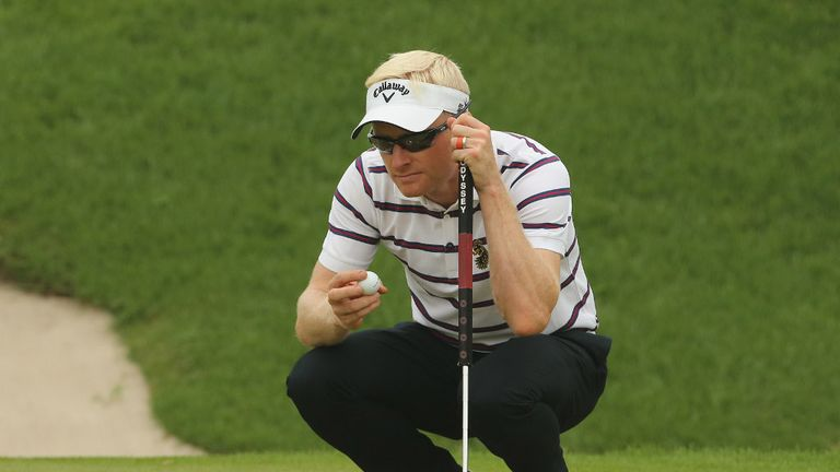Simon Dyson: The Englishman shares the lead in China with Alvaro Quiros