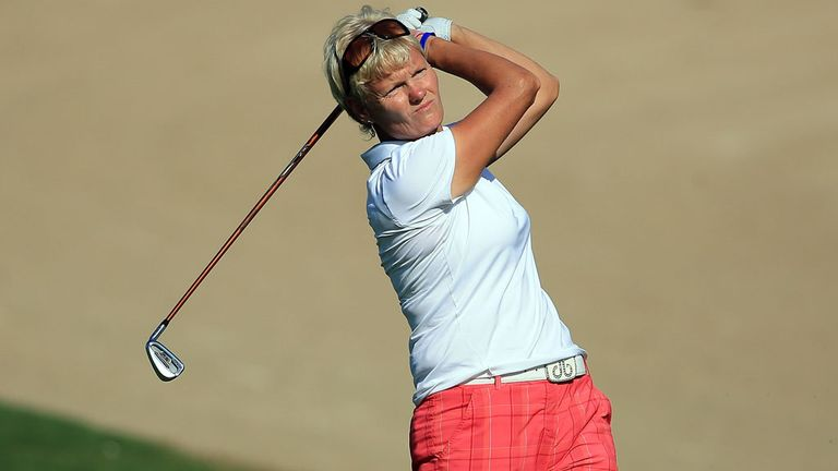 Trish Johnson: Scottish Open pace-setter