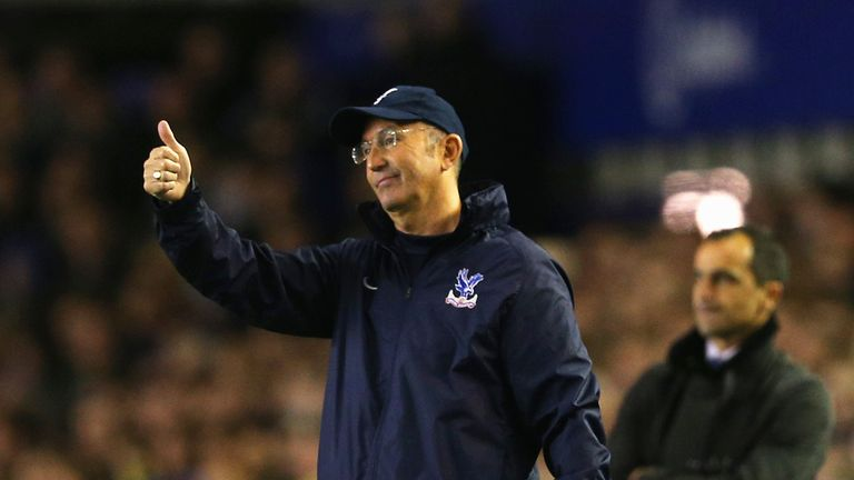 Miracle man? Few gave Tony Pulis a prayer when he took the reins from Ian Holloway