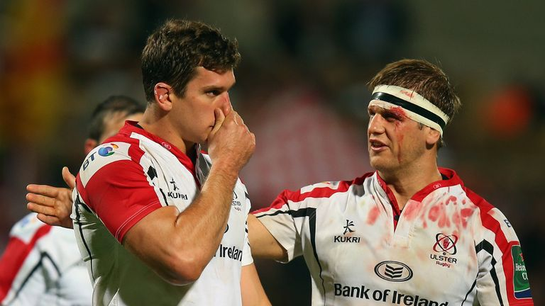 Robbie Diack and Chris Henry: crucial for Ulster