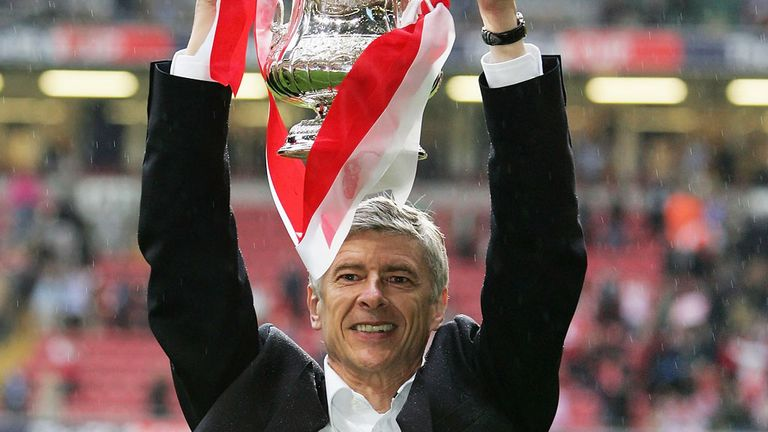 Arsene Wenger: Arsenal boss last led his team to FA Cup success in 2005