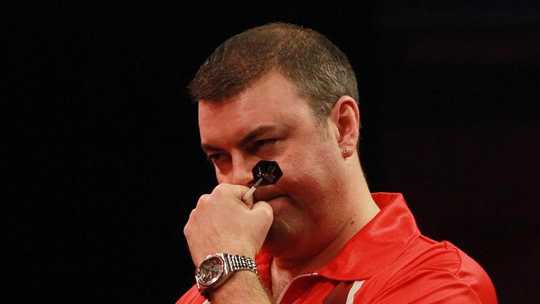 Wes Newton: Relegated for a second time from Premier League darts