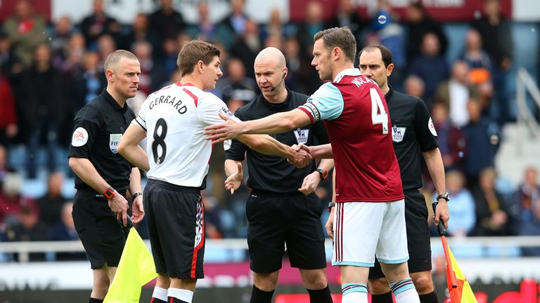 The officials had a lot to contend with at Upton Park
