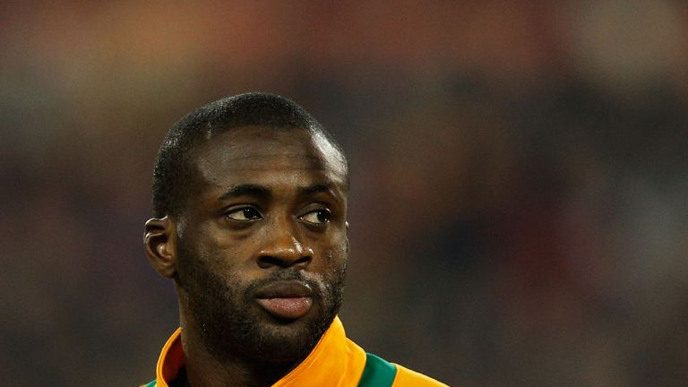 Toure: Ready to go to Brazil and the homeland of Pele, where Ivory Coast want success