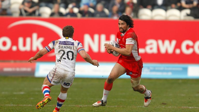 Ade Garnder (top) has extended his loan from St Helens to Hull KR