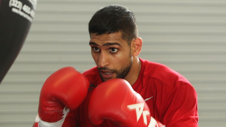 Amir Khan: Determined to bag bout with Floyd Mayweather